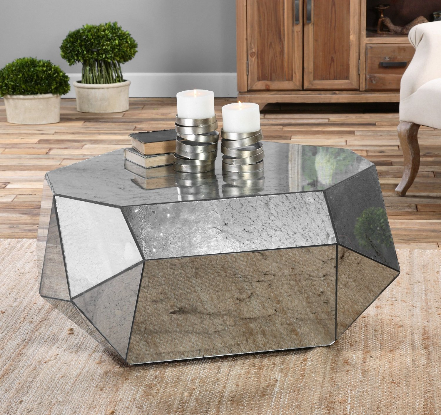 9 geometric coffee tables to perfectly align your life