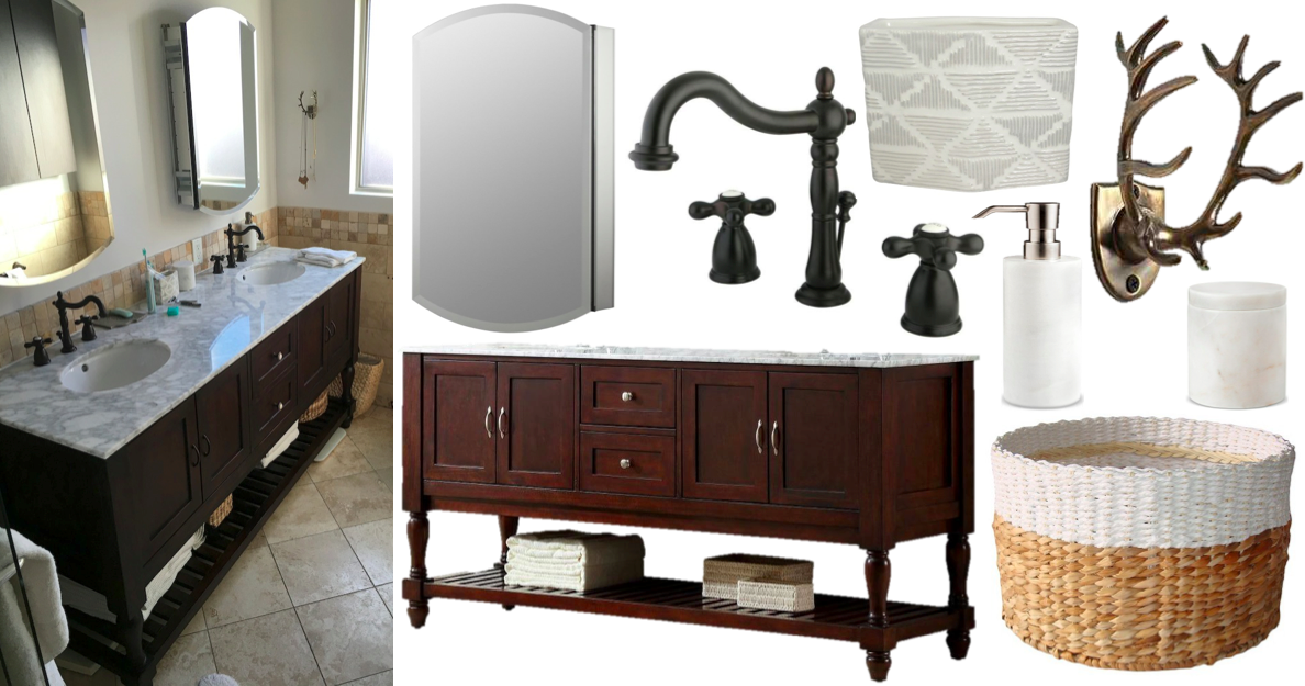 Spanish Style Bathroom Decorating Ideas: Our California Spanish-style Bathroom Remodel